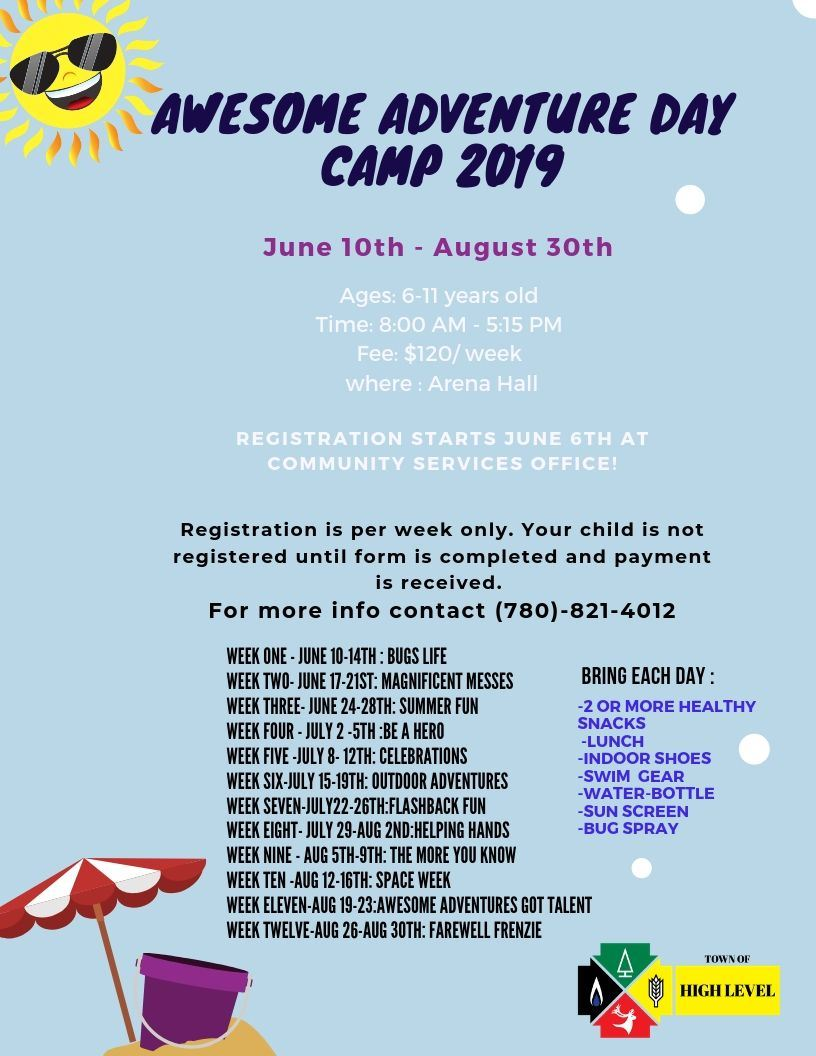 Copy of Awesome Adventure Day Camp 2020