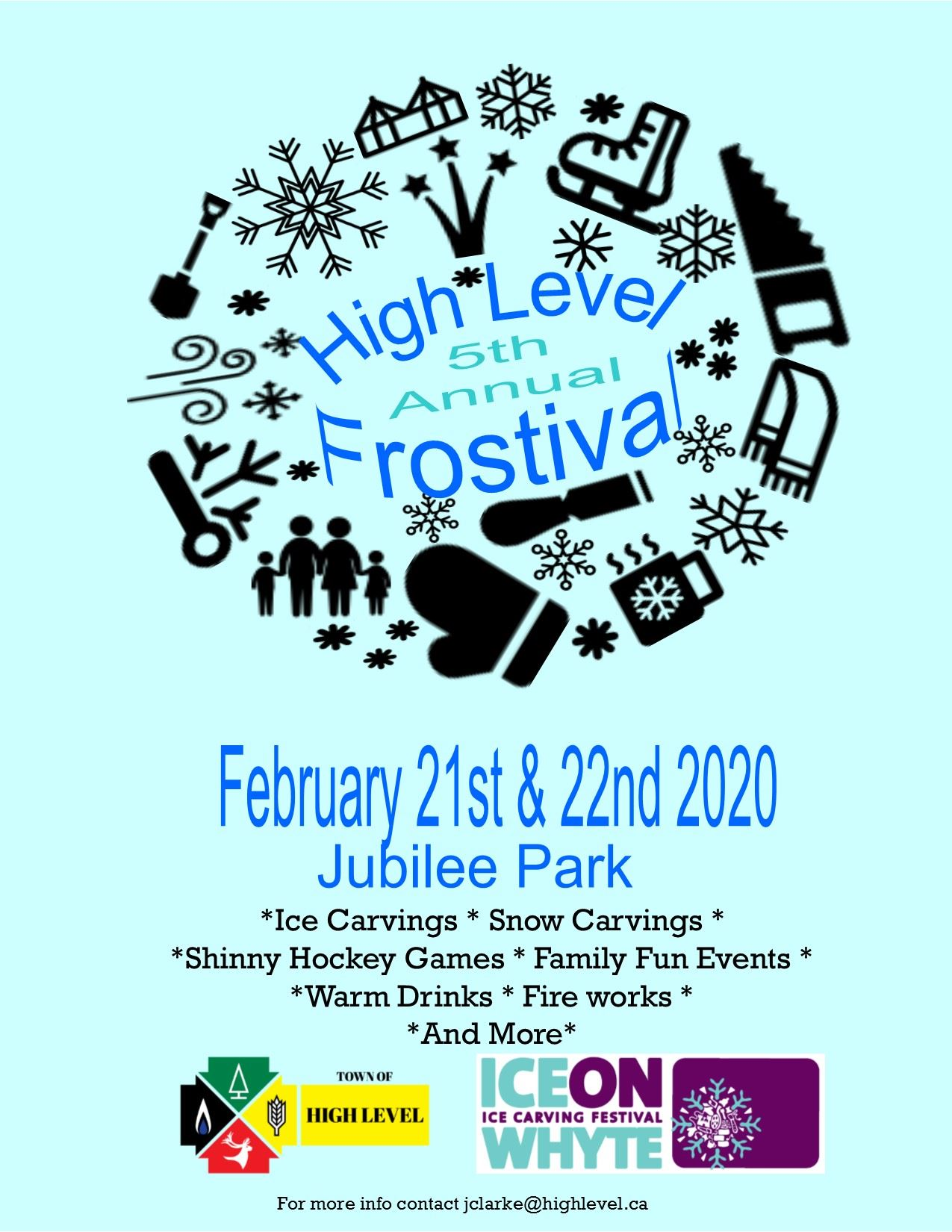 Frostival poster 2020