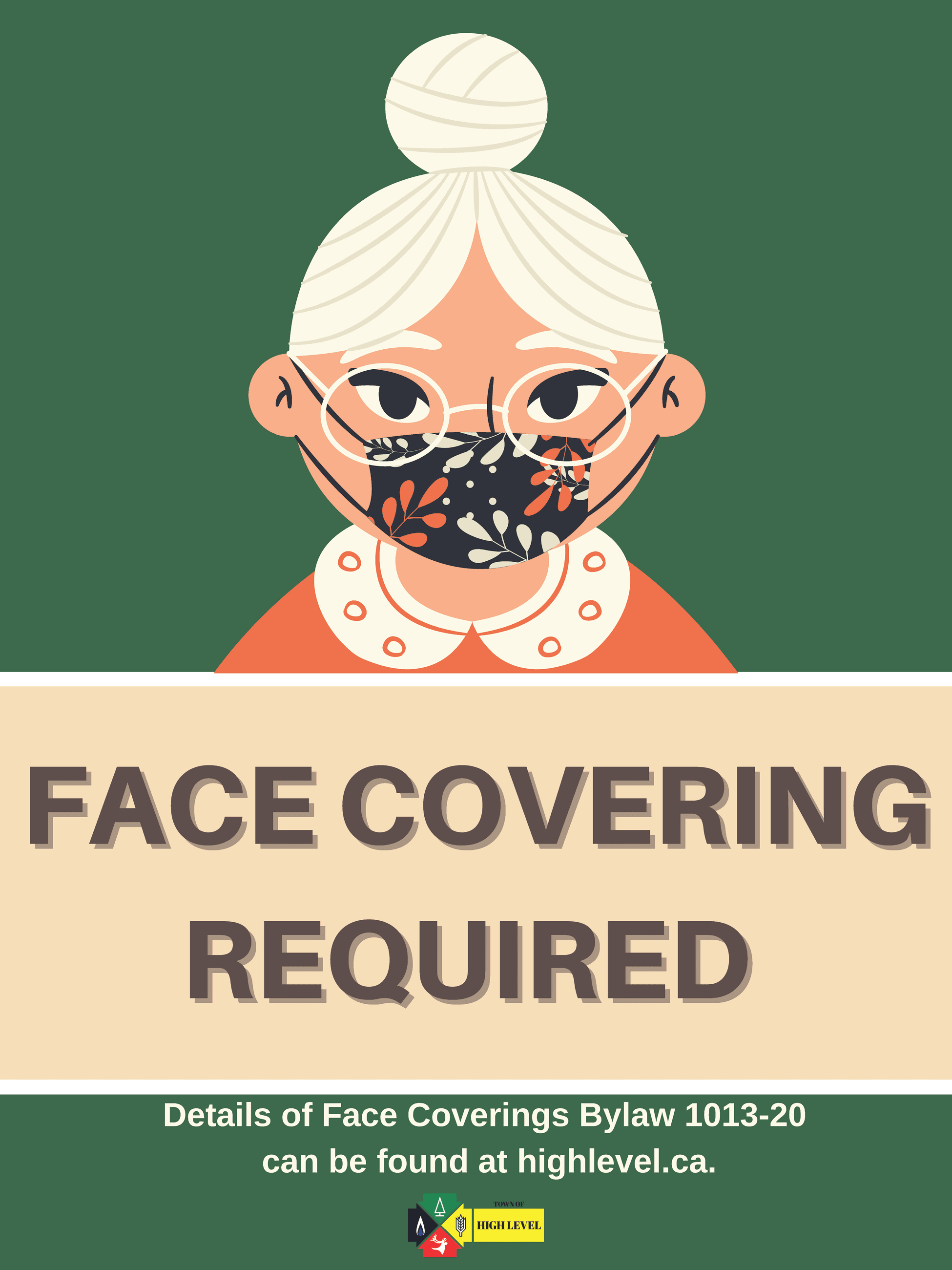 Face Coverings SIGN Opens in new window