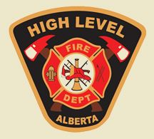 High Level Fire Department Logo